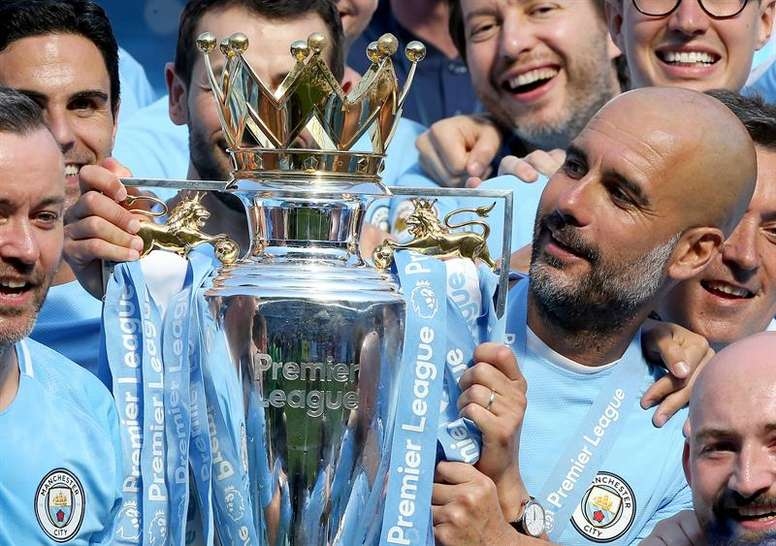 City are hoping to end their formidable season with a bang. EFE/EPA
