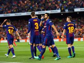 Barcelona drew 2-2 with Real Madrid at the Camp Nou. EFE