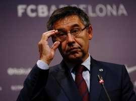 Valverde pasó revista a la actualidad del Barça. EFE/Archivo