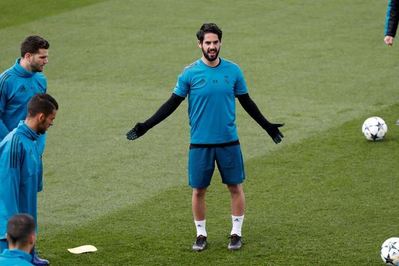 Isco knows what his team needs to do to win the Champions League. EFE