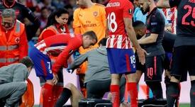 Koscielny se lesionó de gravedad ante el Atlético. EFE/Archivo