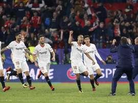 El Sevilla está obligado a ganar al Madrid. EFE/Archivo