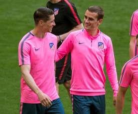 L'attaquant français raconte le premier conseil qu'il a reçu de Torres. EFE