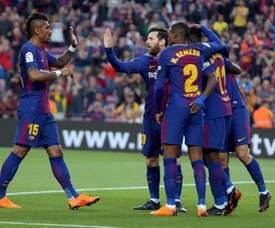 Barcelona remain unbeaten in La Liga this season. EFE