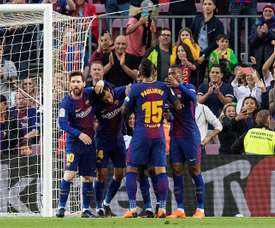 Barcelona won the most matches. EFE