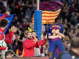 O United quer pescar no Barcelona. EFE