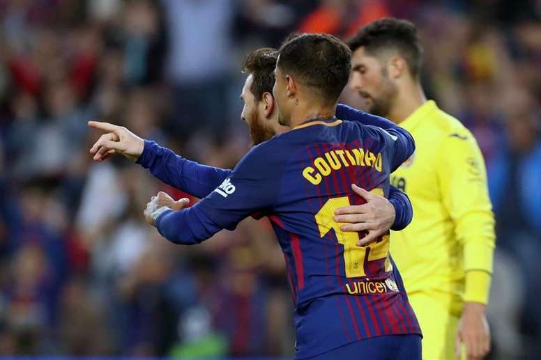 Coutinho et Messi seront aux avant-postes. EFE