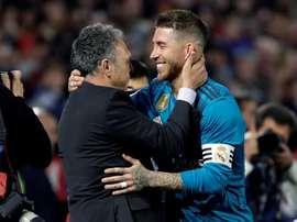 Navas a évoqué la rencontre face à Madrid. EFE