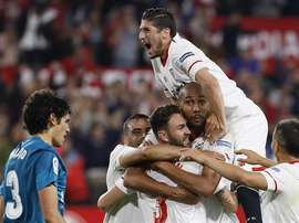 Sevilla came out on top at the Pizjuan. AFP