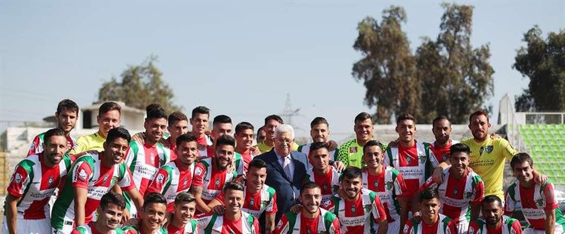 Palestino ha ganado su tercera Copa de Chile. EFE/Archivo
