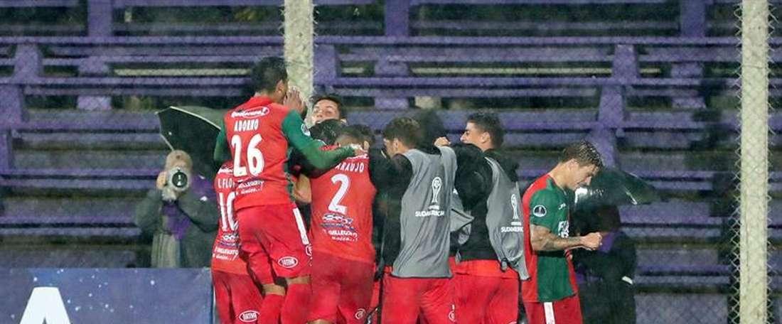 Importante victoria de Boston River en la Sudamericana. EFE