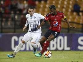 Didier Moreno ya es jugador del Dépor. EFE