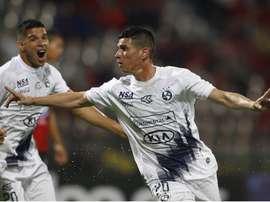 Villagra hizo el único tanto de su equipo. EFE/Archivo