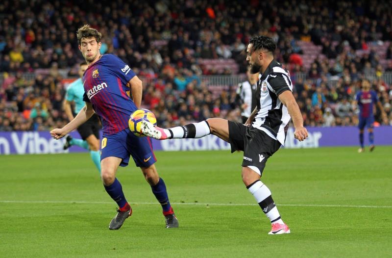 Levante dio la sorpresa venciendo al Barcelona 5-4