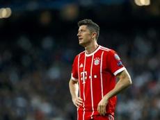 Lewandowski, sin opciones para ir al Madrid. EFE