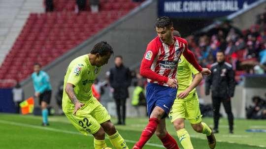 El Valencia superó por la mínima al Getafe. EFE