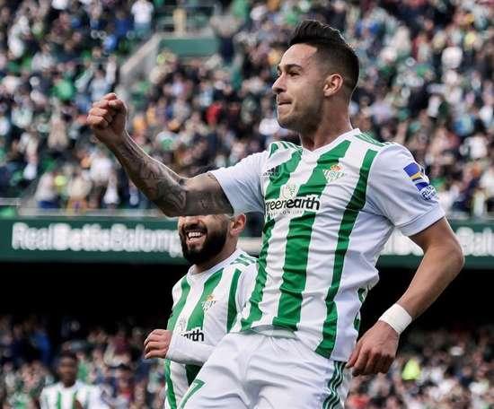 Sergio León sera 'granota' pour les trois prochaines saisons. EFE