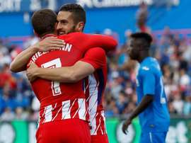 Koke was the sole scorer of the game. EFE