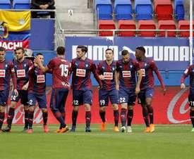 El Eibar se enfrentará este domingo ante el Athletic. EFE