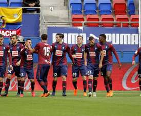 El Eibar ha estrenado la pretemporada goleando al Tudelano. EFE/Archivo