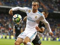 Gareth Bale firmó un gran encuentro contra el Celta. EFE