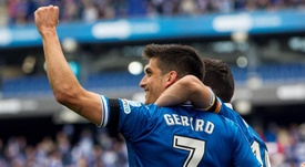 Gerard Moreno anotó su gol número 16. EFE