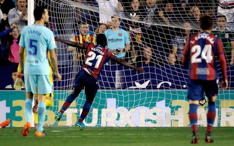 El Levante ha firmado un final de temporada increíble. EFE