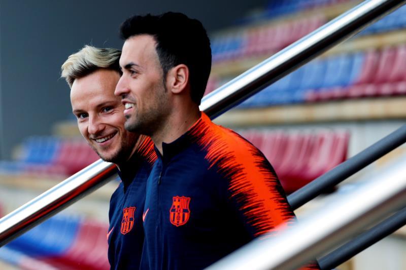 Barcelona, con Mina de titular, superó 1-3 a Sundowns en amistoso