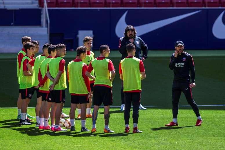 Burgos carica l'Atletico. AFP