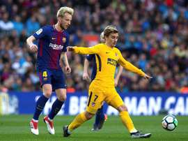 Rakitic delcared his love for Griezmann. EFE