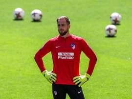 Andoni Zubiaurre juega en el Sanse, en Segunda División B. EFE