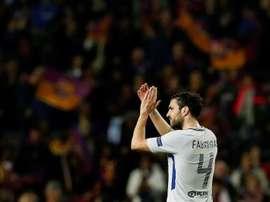 Fàbregas podría llegar gratis en verano al Galatasaray. EFE