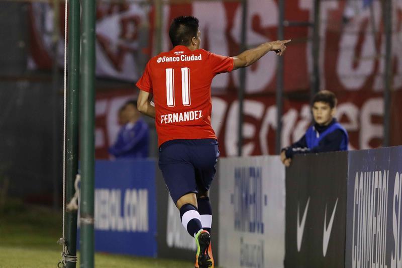 (FOTO) Clasificación de Independiente con Gaibor en cancha