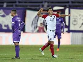 Churín anotó el único gol del choque. EFE/Archivo
