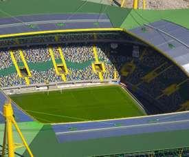 El estadio del Sporting podría contener a su mayor emblema. EFE