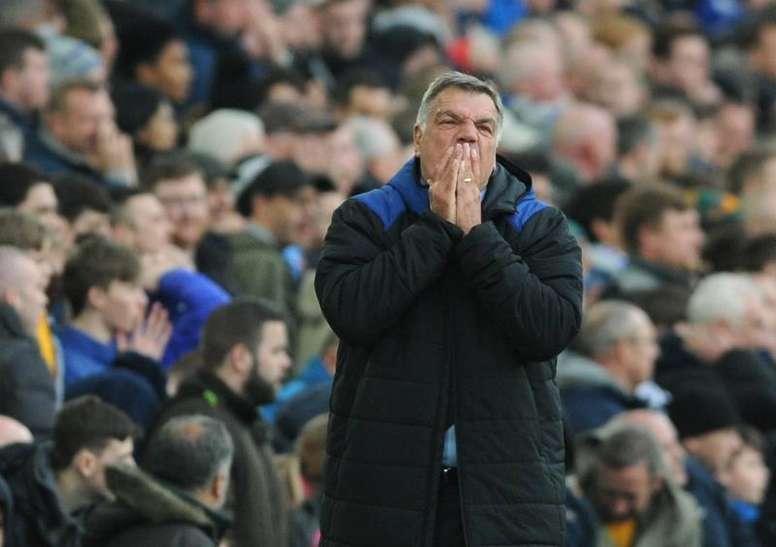 Sam Allardyce já não é o treinador do Everton. EFE