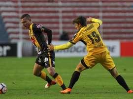 Peñarol se llevó el triunfo en la última jornada. EFE/Archivo