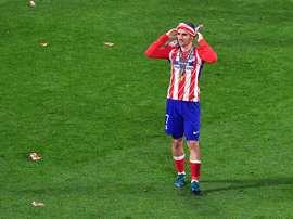 Griezmann pode estar de saída do Atlético de Madrid. EFE