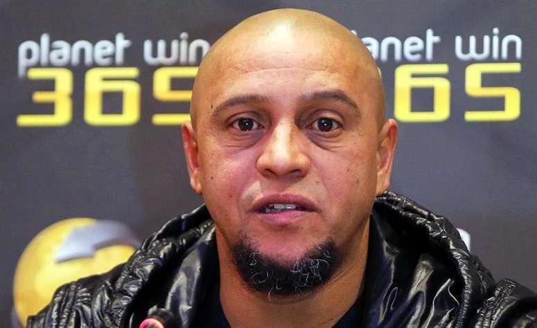 Roberto Carlos lamentó la baja de Neymar para la Copa América. EFE