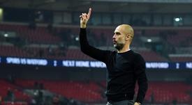 Guardiola no quiere más inversión en centrocampistas. EFE