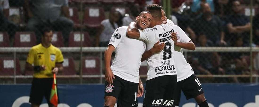 Brutal paliza del conjunto brasileño en la Libertadores. EFE