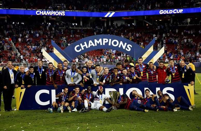 Así quedan los grupos de la Copa Oro 2019. EFE