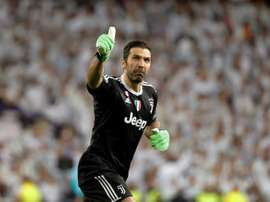 Buffon used to be a midfielder. EFE