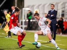 Les incidents sexistes ont augmenté dans le football. EFE/Archive