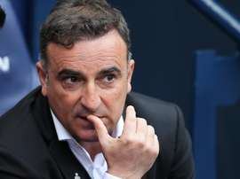 Carvalhal left his position at Swansea as they were relegated last season. EFE/Archivo