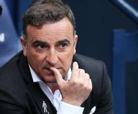 Carlos Carvalhal já não é treinador do Swansea.EFE