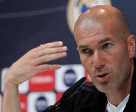 Zidane blamed himself for Copa del Rey exit. EFE