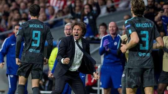 Morata could imagen Conte at Real Madrid. EFE