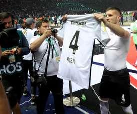 Rebic, otra vez goleador. EFE
