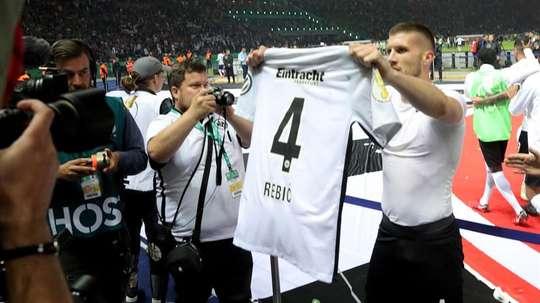 Ante Rebic, possible recrutement de l'Atlético Madrid. EFE